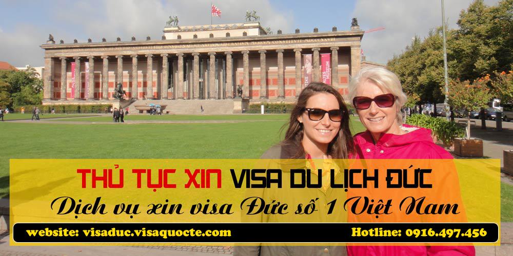 xin visa Đức du lịch