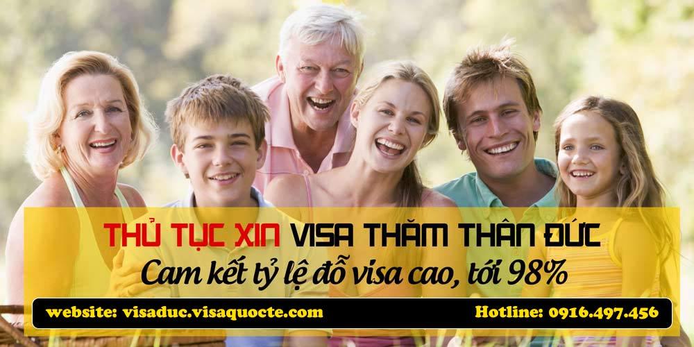 visa Đức thăm thân