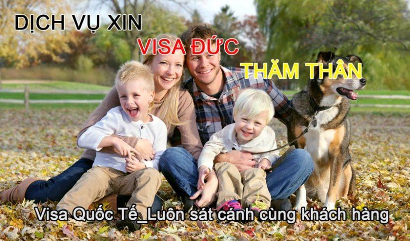 xin visa Đức thăm thân